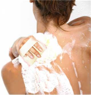 Meilleur douche avec le gant le kiss